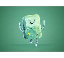Beemo Polygonal | Adventure Time Photographic Print