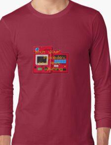 Pokedex  Long Sleeve T-Shirt