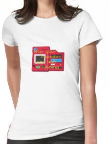 Pokedex  Womens Fitted T-Shirt