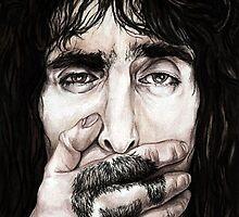 Frank Zappa by Iantel1138