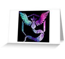 TEAM MYSTIC - COLORFUL GALAXY Greeting Card