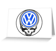 Steal Your Wagen Blue Greeting Card