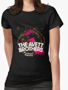 the avett brothers another is waiting  album covers genico Womens Fitted T-Shirt