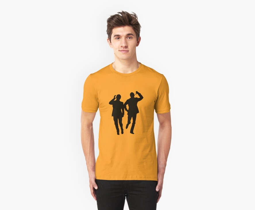 Morcambe & Wise - Bring Me Sunshine T-Shirt by Fotopia
