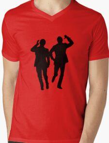 Morcambe & Wise - Bring Me Sunshine T-Shirt Mens V-Neck T-Shirt