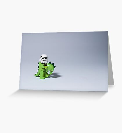 Embrace your wild side Greeting Card