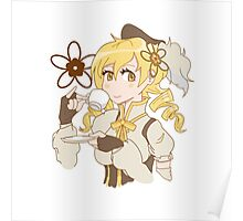 Mami Tomoe (sipping tea) Poster
