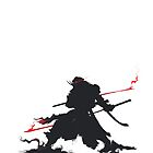 Samurai III Silhouette by cobaltplasma