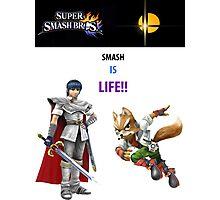 Smash is Life Photographic Print