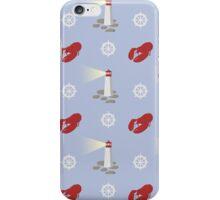 Maritimes Repeat Pattern iPhone Case/Skin