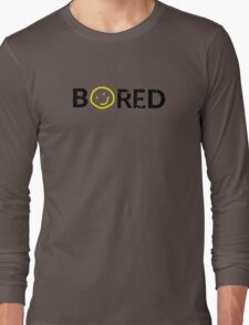 Sherlock - BORED Long Sleeve T-Shirt