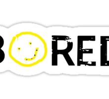 Sherlock - BORED Sticker