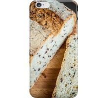 Soy and Linseed Bread iPhone Case/Skin