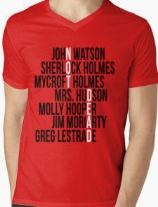 Not Dead Mens V-Neck T-Shirt