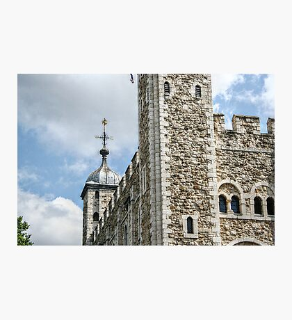 West Side of the Tower of London Photographic Print