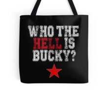 Who is Bucky? Tote Bag