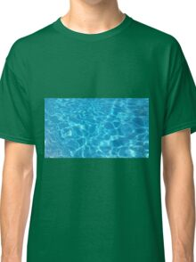 Pool Water - Cyan Classic T-Shirt