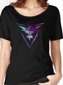 TEAM INSTINCT - COLORFUL GALAXY Women's Relaxed Fit T-Shirt