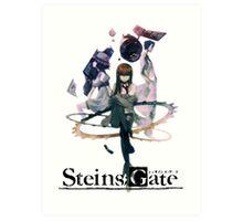 Steins Gate Art Print