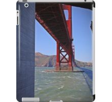 A different view of the Golden Gate Bridge iPad Case/Skin