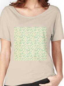 Tiny mint hearts,rustic background,grunge,trendy,modern Women's Relaxed Fit T-Shirt