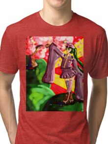 One thousand Cherry Blossoms Tri-blend T-Shirt