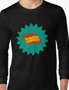 Wagon Christ - Tally Ho splat art Long Sleeve T-Shirt