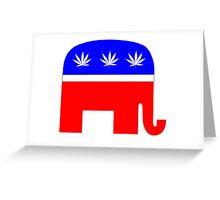 Republicans For Marijuana Legalization Greeting Card
