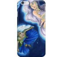 The Planets: Earth and Moon iPhone Case/Skin