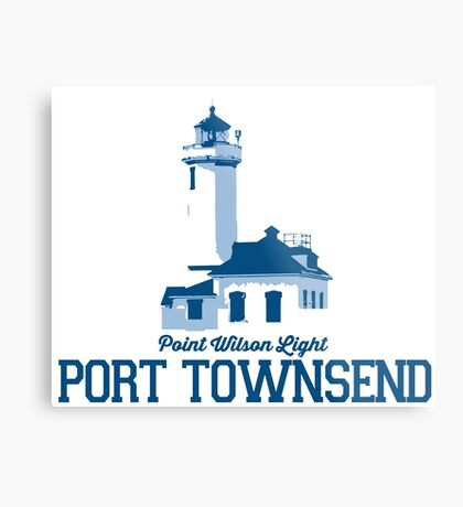 Port Townsend - Washington State.  Metal Print