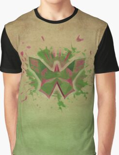Rustic Butterfly Graphic T-Shirt
