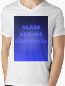 Glass Ceiling Shattered! Mens V-Neck T-Shirt