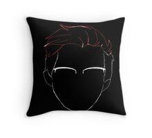 Markiplier Face Silhoette Throw Pillow