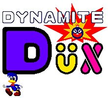 Dynamite Dux Photographic Print