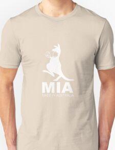 MIA - Made in Australia WHITE Unisex T-Shirt