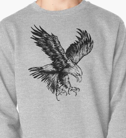 Bald Eagle (Black) Pullover