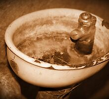 Pre war sink on Mare Island by Tracy Freese