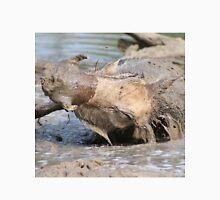 Warthog - African Wildlife Background - Healing Mud Bath Unisex T-Shirt