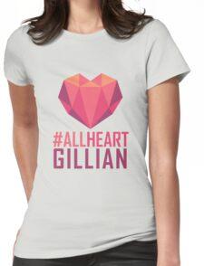 #AllHeartGillian - Pink  Womens Fitted T-Shirt