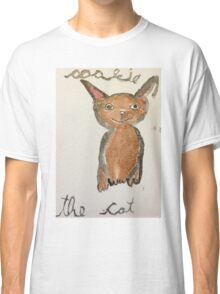 the cat in paris, 2016, watercolor on canvas Classic T-Shirt