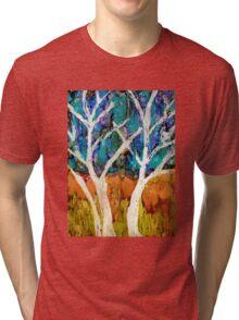 Aspen Trees Tri-blend T-Shirt