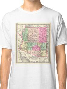 Vintage Map of Arizona (1881) Classic T-Shirt