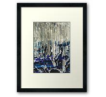 West coast - raining again! Framed Print
