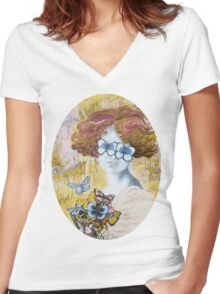 Be My Eyes Women's Fitted V-Neck T-Shirt
