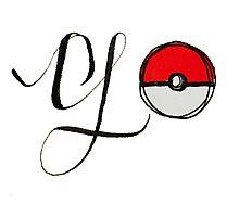 Pokemon Go! Photographic Print