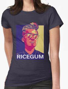 Ricegum shirt Womens Fitted T-Shirt