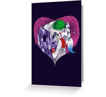 Suicide Kiss Greeting Card