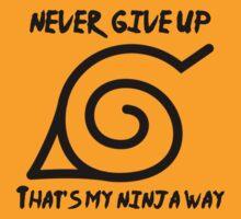 Ninja Way - Naruto by MaxCohn