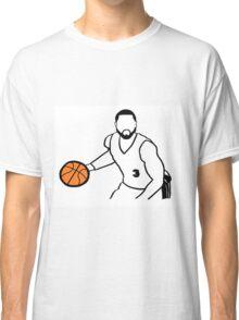 Dwyane Wade Dribbling a Basketball Classic T-Shirt