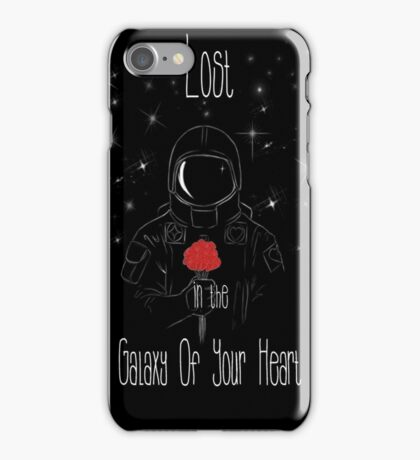 Lost in the galaxy of your heart iPhone Case/Skin